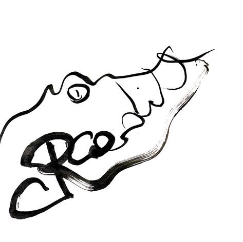Crocodile calligramme calligraphie d'un mot ©yvesdimier