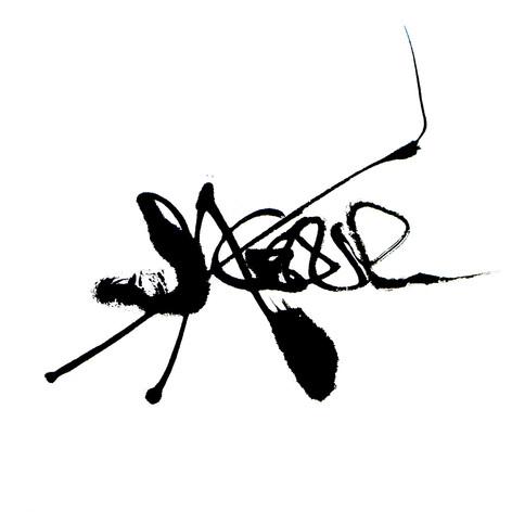 Sagesse calligramme calligraphie d'un mot ©yvesdimier