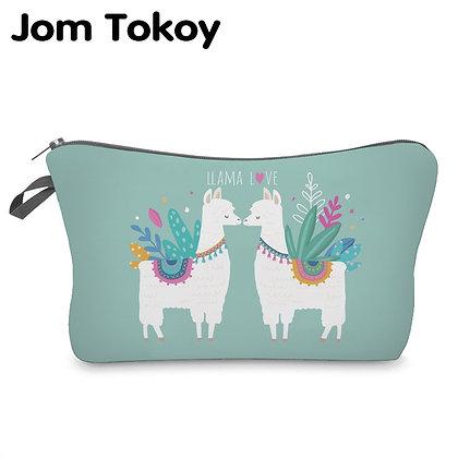 Jom Tokoy Water Resistant Cosmetic Organizer Bag Makeup Bag