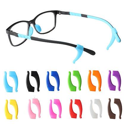 Anti Slip Eyeglass Ear Hook / Silicone Grip Tip Holder