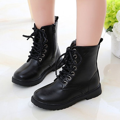Military Style Kid's Boots