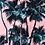 Thumbnail: Pink Hawaiian Beach Short Sleeve Shirt Men 2019 Summer Fashion Palm Tree Print