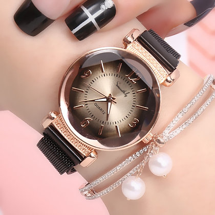 Gradient Dial Milan Strap Luxury Fashion watch