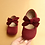 Thumbnail: Big Bow Princess Baby Single Casual Shoes 1-3 Year Soft Leather