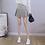 Thumbnail: High Waist Pleated Mini Skirt