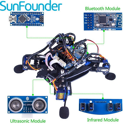 Bionic Robot Turtle With APP Control Toy Kit for Obstacle Avoidance Rbotics Kits