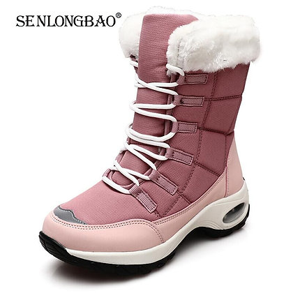 High Quality Lace-Up Comfortable Ankle Boots / Waterproof Hiking Boots