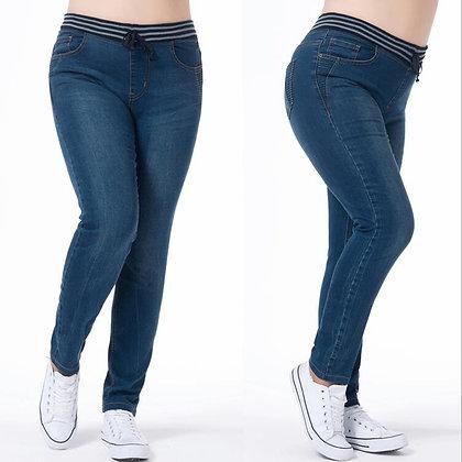 Oversized Women's Classic Push Up Jeans /  5xl 6xl 7xl