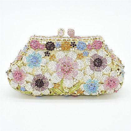 New Bling Crystal Flower Shape / Luxury Handbags at Googoostore