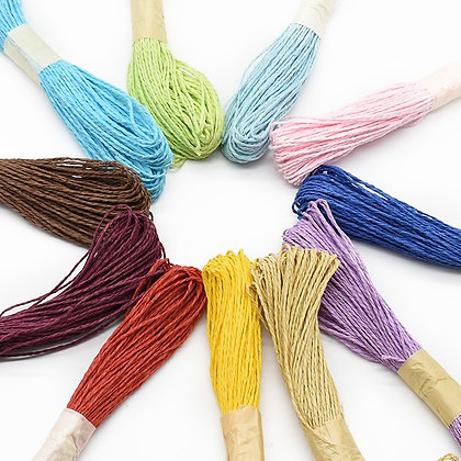 30 Meters/Lot Cheap Hemp Rope Diy Candy Box Home Decoration Accessories