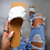 Thumbnail: Soft Leather Woven Slippers / Flat Heels