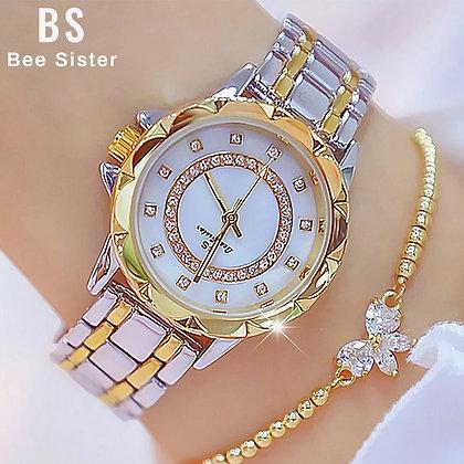 Luxury Brand 2021 Rhinestone Elegant Ladies Watches