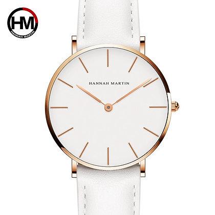 Fashion White Leather watch