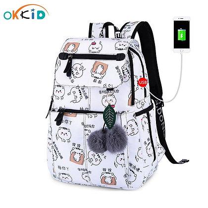 OKKID / School Bags Cute Prints