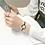 Thumbnail: Luxury Starry Sky Bracelet Fashion Shine Diamond Elegant Ladies Bangle Watch