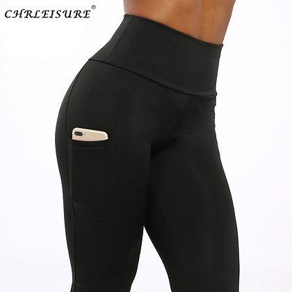 CHRLEISURE Fitness Legging Women Workout Push Up Leggings Sexy High Waist