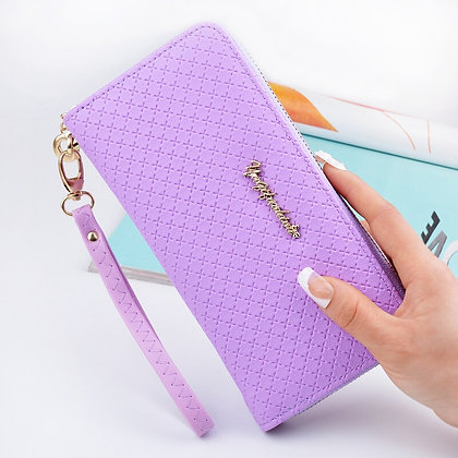 Purple stylish Lux Purse - GooGooStore