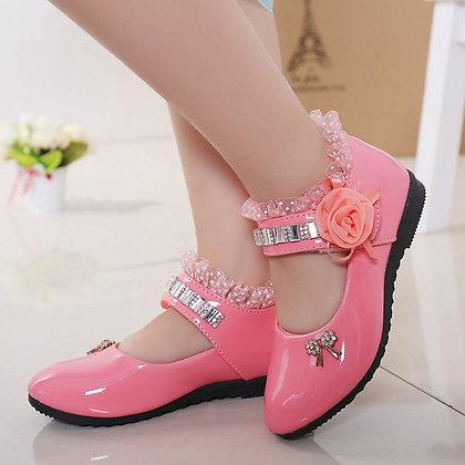 Elegant Princess PU Leather Sandals