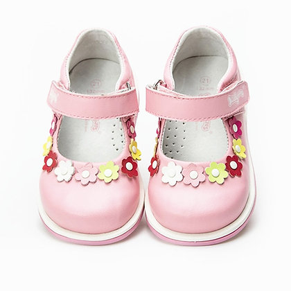 Arch Support Girl Orthopedic Genuine Leather Princess Shoes