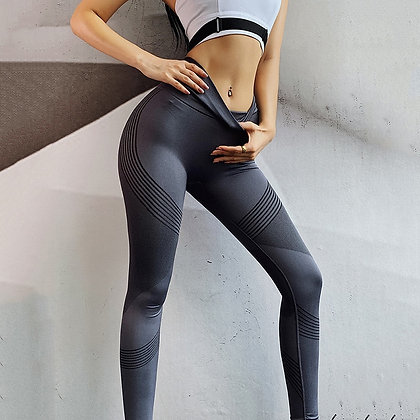 Plus Size Workout leggings / Push Up Fitness  Anti Cellulite Sport Activewear