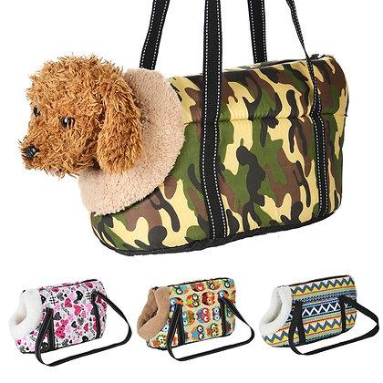 Cozy Soft Pet Carrier Bag Dog Backpack Puppy Pet Cat Shoulder Bag