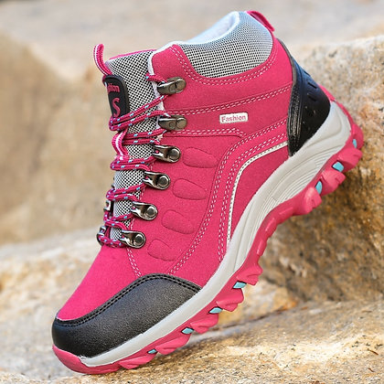 Unisex Breathable Outdoor  Non-Slip Hiking Boots at Googoostore