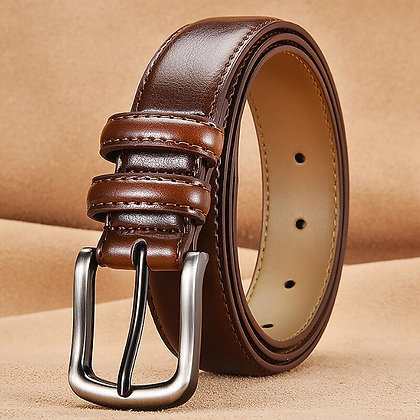 Fashionable Belt Man Real Leather Belts for Men Genuine Leather Belt