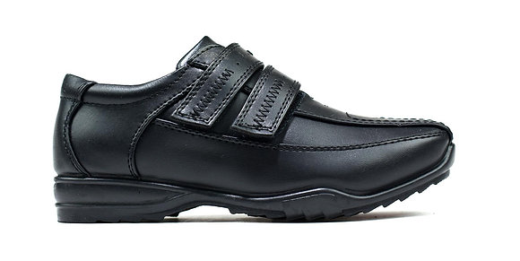 Bowie Double Strap Shoes Black