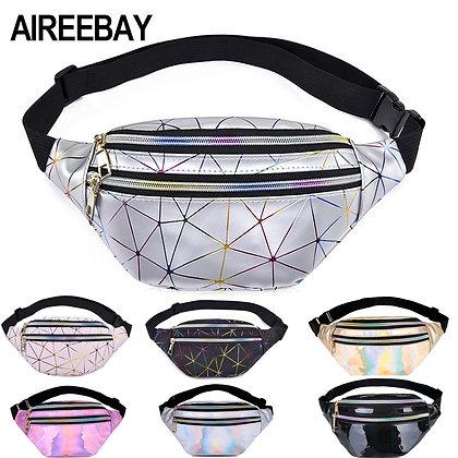 AIREEBAY - Holographic Waist Bags
