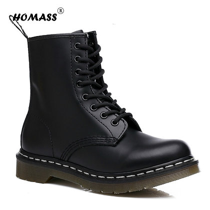 Leather - Waterproof - Unisex Ankle Boots