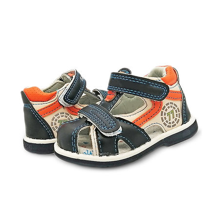 NEW 1 Pair Orthopedic PU Leather Boy Sandals Children Shoes, Child Sandals