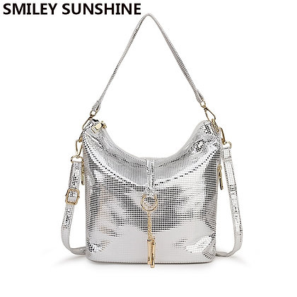 Leather Crossbody Bag / Tassel Shoulder Bag / Hand Hobo Bag Black