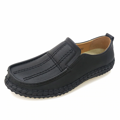 Super Comfortable Casual Leather Shoes Men Soft Leather Loafers