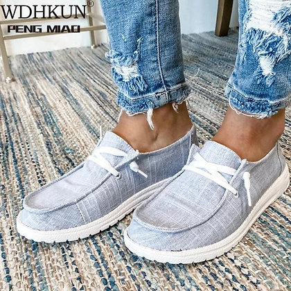 Breathable Lightweight Ladies Sneakers Plus Size 43