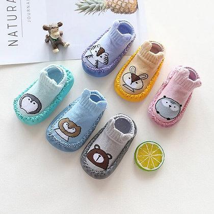 Baby Foot Socks Toddler Shoes Boys Girls Non-Slip Soft -Comfortable