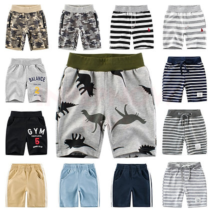 Stripe/Camouflage Shorts for boys
