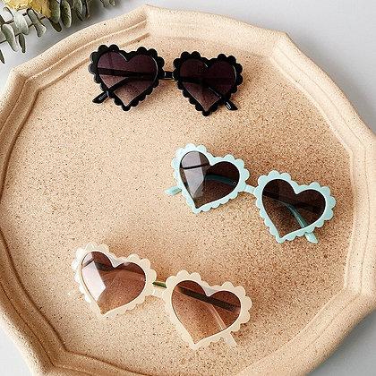 Summer Kids Baby Boy Girl Sunglasses Children Love Pattern Sunglasses