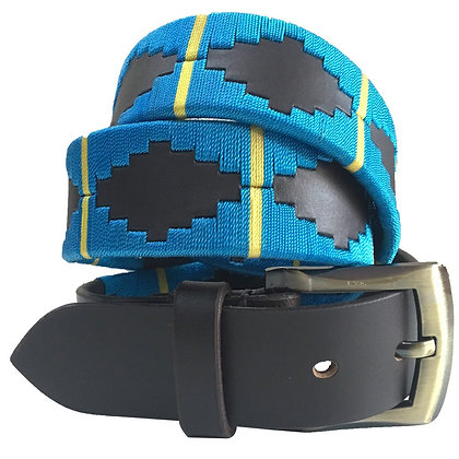 Unisex Argentinian Leather Embroidered Gaucho Polo Belts