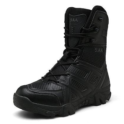 Men's Military Waterproof High Top Combat Boots