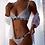 Thumbnail: Women Plus Size Sexy Lingerie Push Up Underwear Bras Set