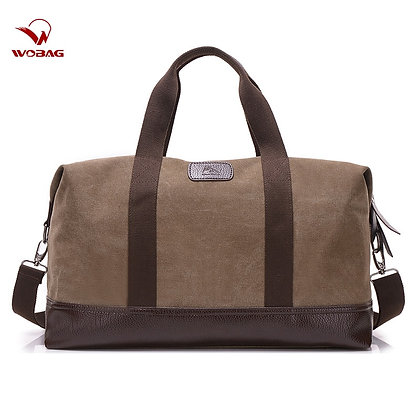 Vintage Canvas Bags -Travel Hand Luggage