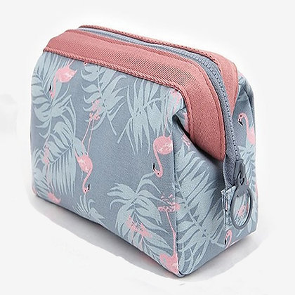Women Travel Animal Flamingo Make Up Bags Girl Cosmetic Bag Makeup Beauty bag