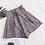 Thumbnail: HELIAR - Drawstring Plaid Shorts Elastic Waist Wide Leg Shorts