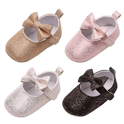 Anit-Slip Breathable Sweet Bow Princess Shoes