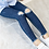 Thumbnail: Hot Sale Girls Jeans Hole Ripped Jeans for Kids Korean Denim Pants /Black