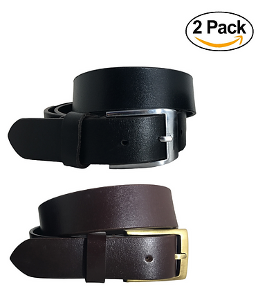 Multipack Black & Brown Dual Pack Twin Pack Leather Casual / Formal Belts