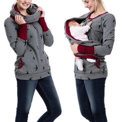 Maternity Jumper - Maternity Breastfeeding Nursing Jumper