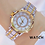 Thumbnail: Luxury Brand 2021 Rhinestone Elegant Ladies Watches