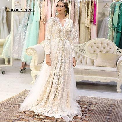 Bbonlinedress - Moroccan Kaftan Evening Dresses