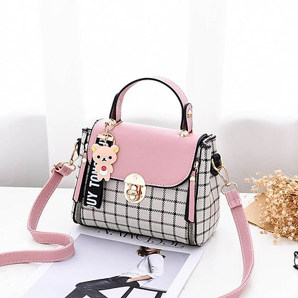 Women's  Shoulder Casual Bag New PU Candy Color Female Crossbody Soft Material